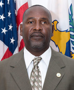 Merwin Potter, St. Thomas-Water Island Administrator